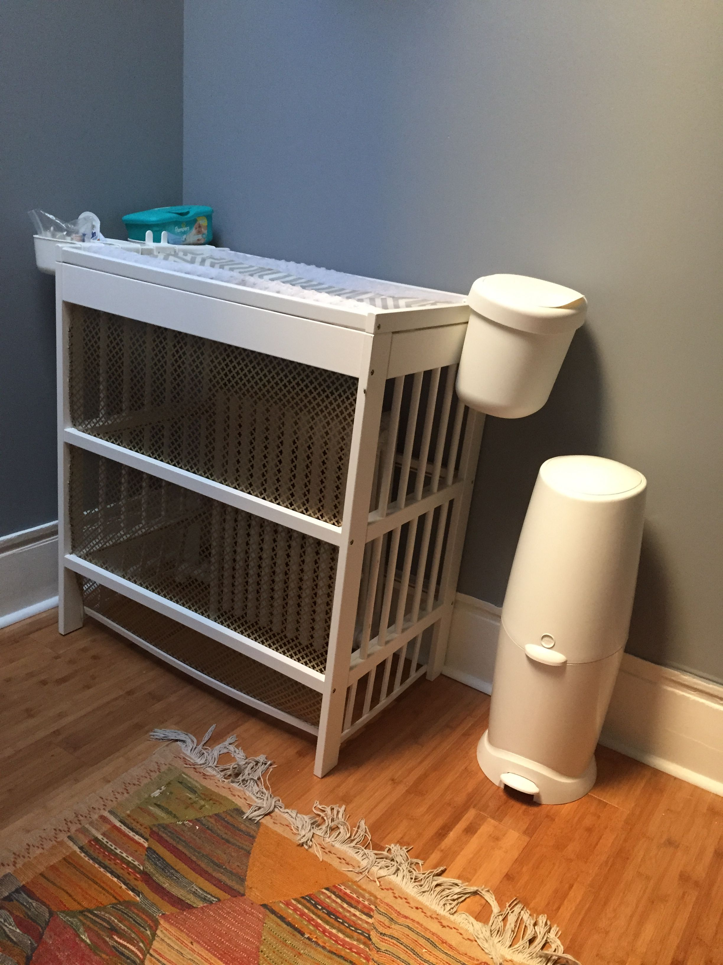 Just IKEA hacked my way to a changing table and radiator cover in