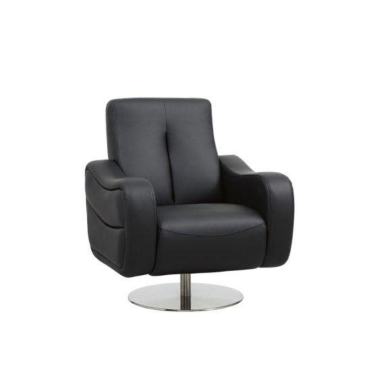 Kenzo Full Genuine Leather Swivel Chair From Domayne Online