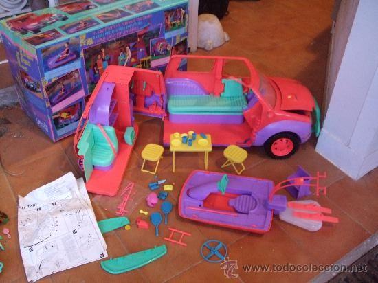 SINDY MULTI CARAVANA 4X4 CON ACCESORIOS DE HASBRO, CAJA ORIGINAL, VINTAGE 1994 (Juguetes - Casas de Muñecas, mobiliarios y complementos)
