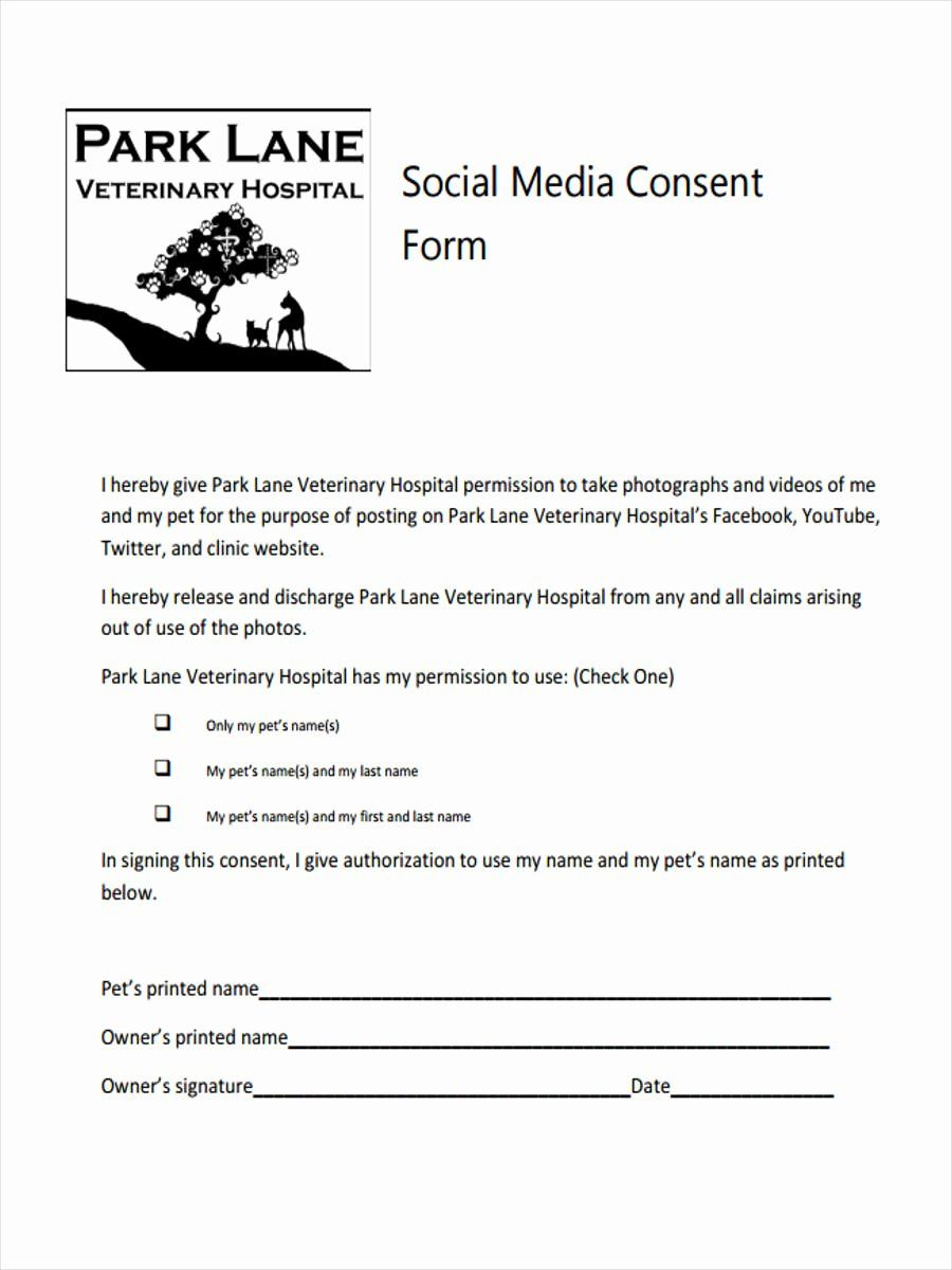 Social Media Permission Form Awesome 8 Media Consent Form Samples Free Sample Example Scholarship Thank You Letter Templates Consent Forms Social media release form template