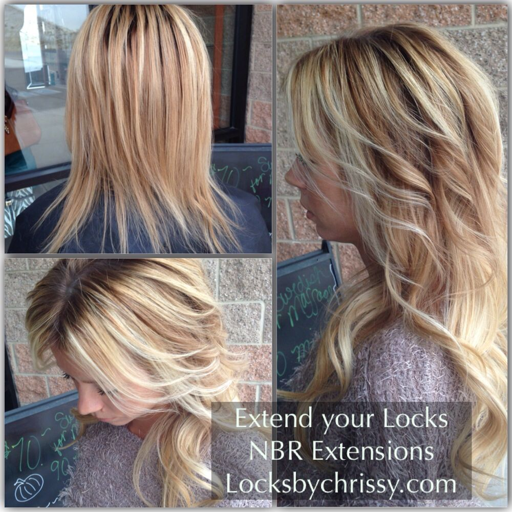 Natural Beaded Row Extensions On Fine Thin Hair Locksbychrissy