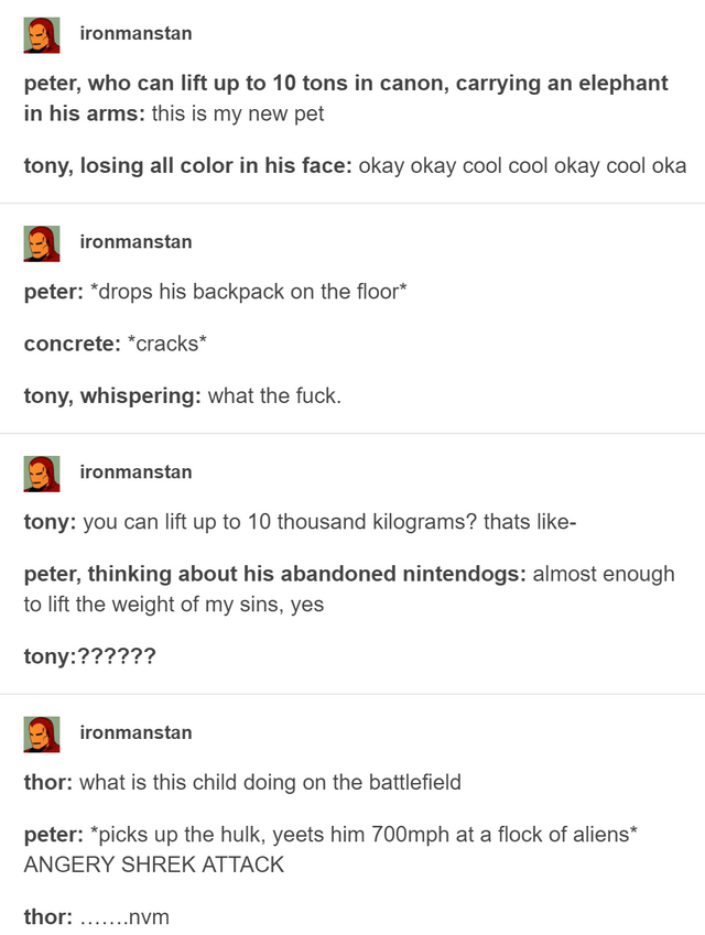 17 Tumblr Posts That Prove Spider-Man Is Definitely A Gen Z