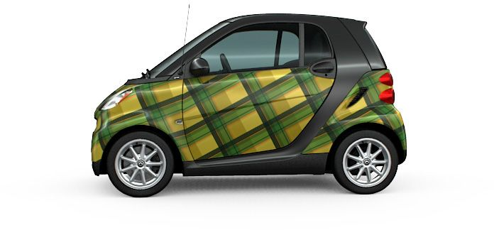 Smart Car Comes In New Custom Colours And Vinyl Wraps