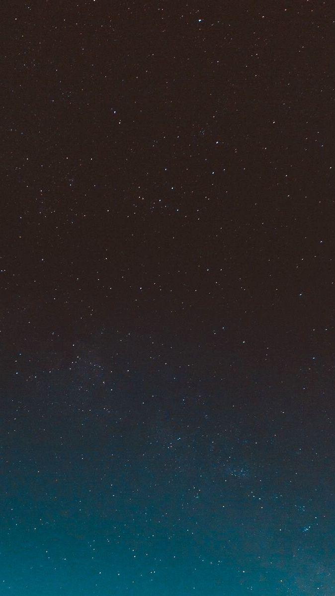 Dark Night Galaxy Stars Wallpaper #blackwallpaperiphone
