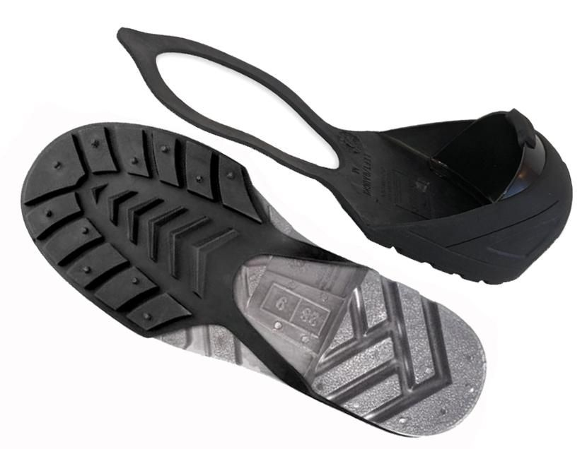 Steel toe safety shoes, Shoe covers