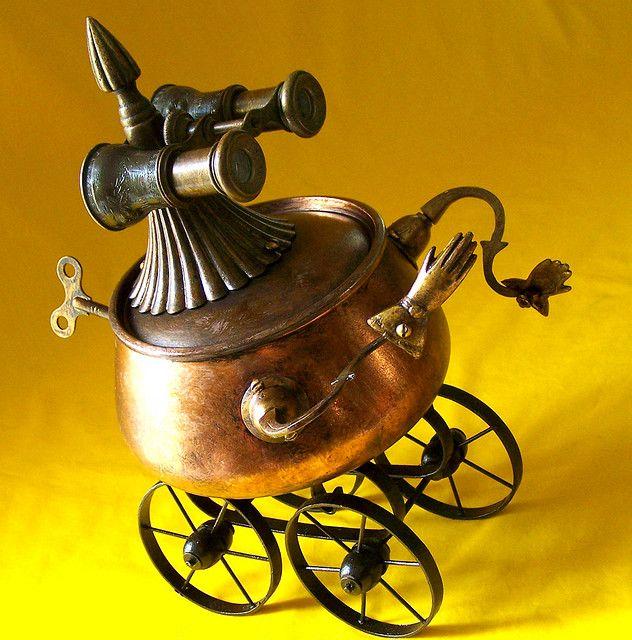 robot assemblage by Will Wagenaar