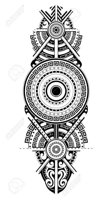 Maori Tattoo Designs, Polynesian Tattoo