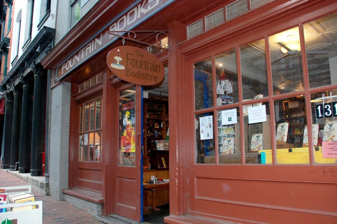 The Fountain Bookstore Richmond Va Bookstore Indie Bookstore Literary Travel