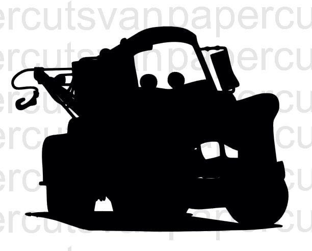 Mater Cars Digital Cut Files For Cameo Or Silhouette And Svg