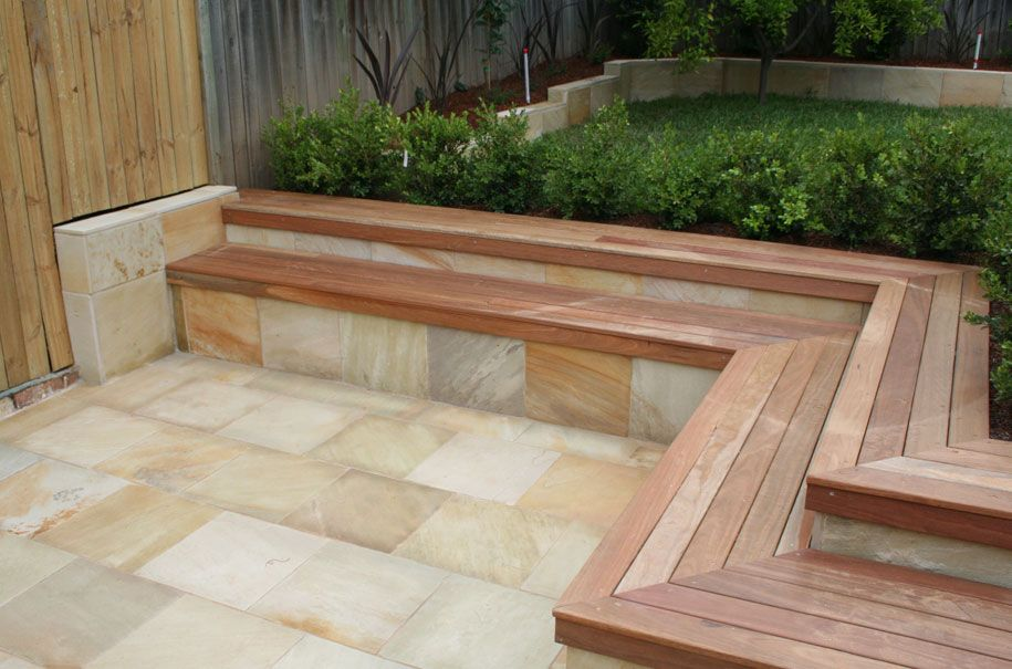 Deck And Retaining Wall Patio Retaining Wall Ideas
