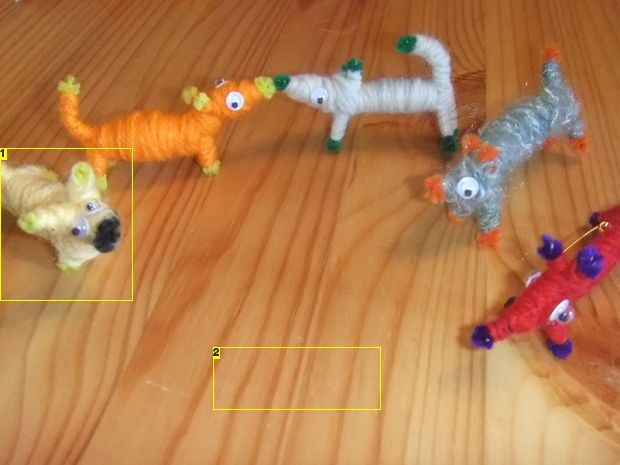 Instructables.com  Adorable, goofy pipe cleaner dogs