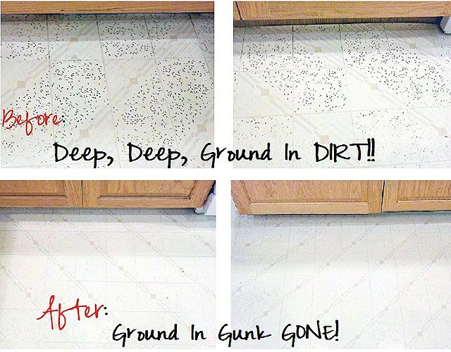 A Surprising Way To Get Stubborn Dirt Out Of Your Linoleum Floors in ...