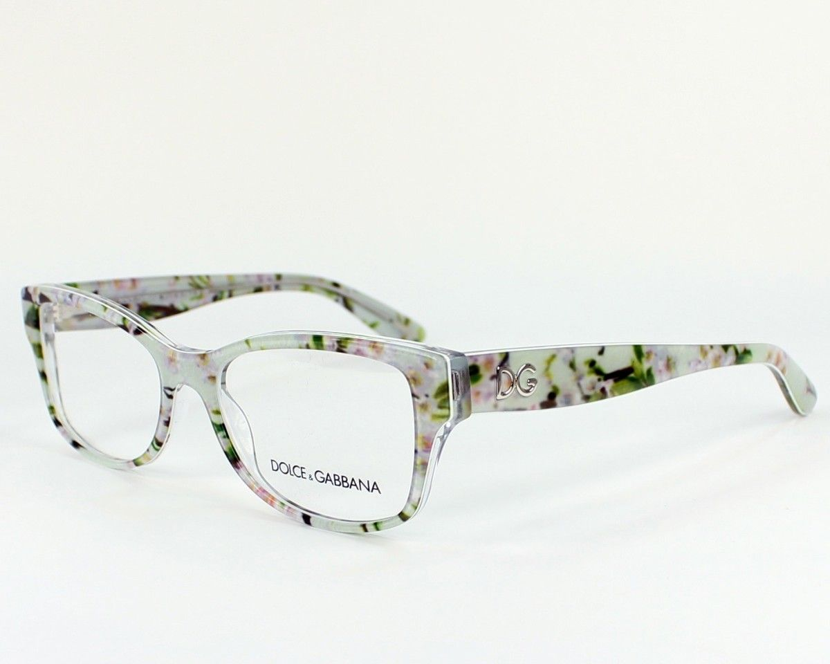 0f77253e028b Ok Love these flower frames! Dolce   Gabbana Almond Flowers Eyeglasses 2843  Aqua Peach Flowers Frame 53 16