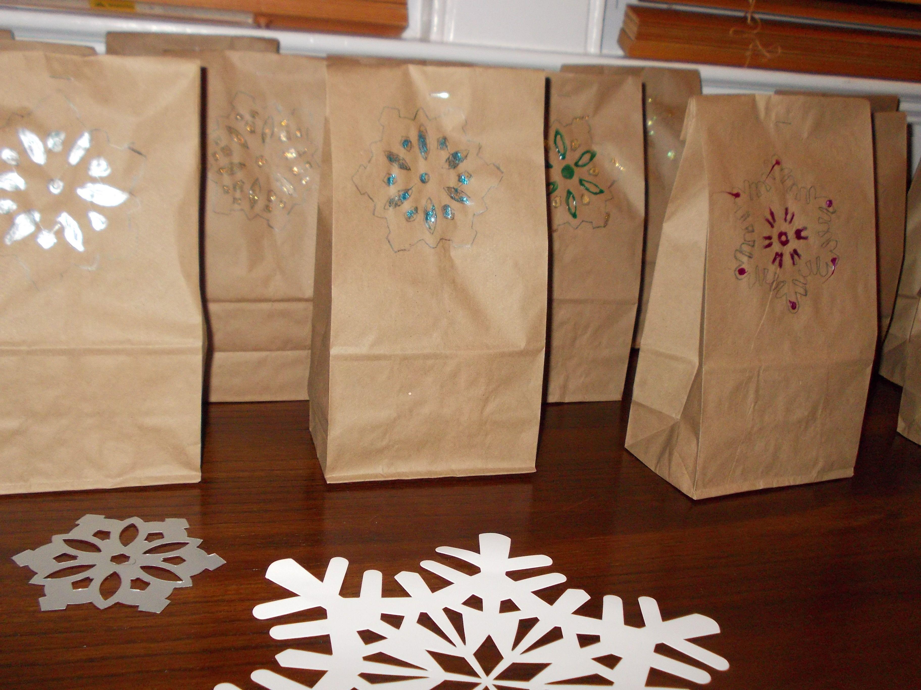 make snowbags