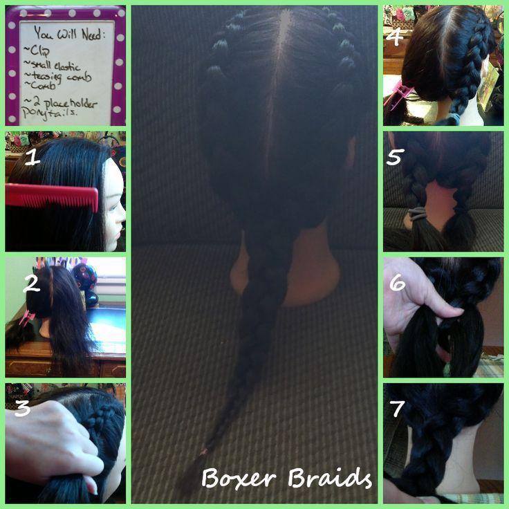 ¡Animate a las Boxer Braids! Tutorial paso a paso - LA NACION # how to boxer Br... - #animate #Boxer #Braids #las #nacion #paso #Tutorial