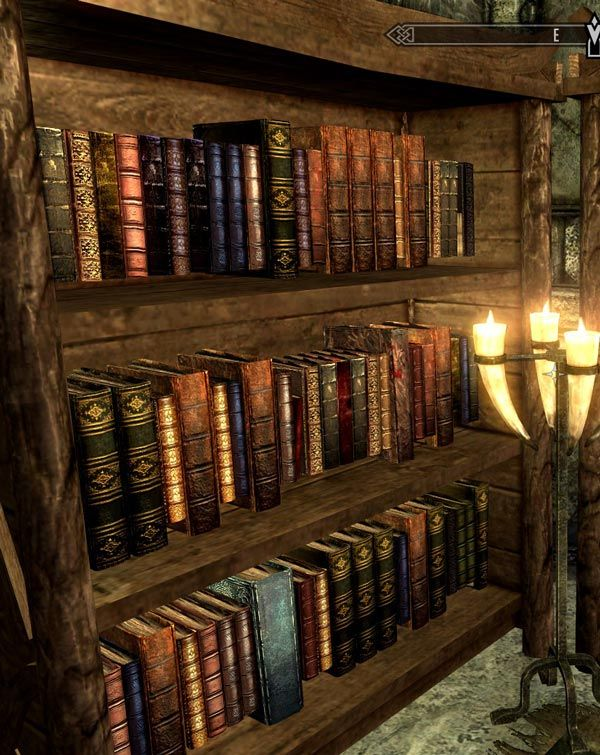 Bookshelves Script SKSE By McGuffin Skyrim Nexus Mods Elder Scrolls