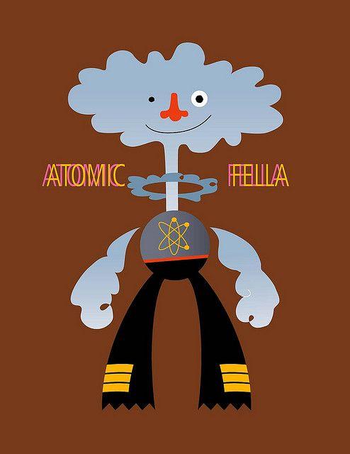 atomic fella by villanias, via Flickr
