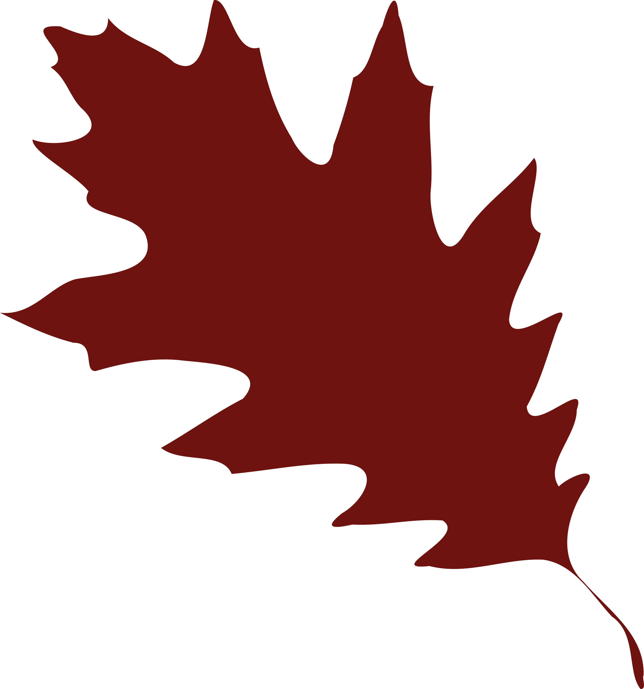 Leaf 08 Leaf Silhouette Fall Leaves Drawing Silhouette Vector