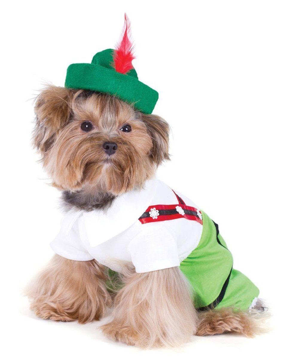 Oktoberfest Lederhosen Alpine Boy Dog Costume Boy Dog Girl