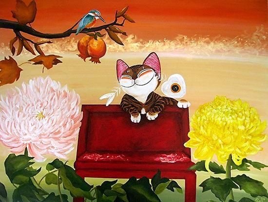 CatmaSutra  Paul Koh  Illustration  Cats  Pinterest