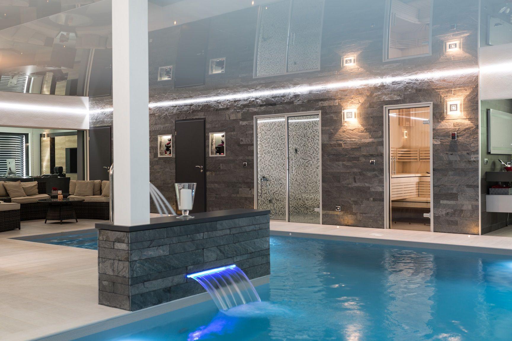Extension Maison Piscine Couverte construction maison avec piscine interieure magnifique