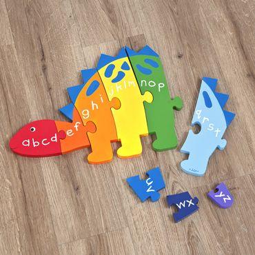 Alphabet Stegosaurus Puzzle
