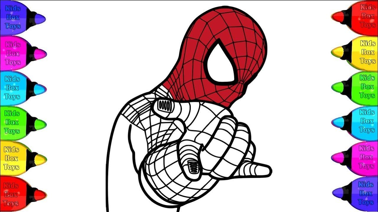 The Amazing Spiderman Coloring Book Spiderman Coloring Video For Kid Spiderman Coloring Amazing Spiderman Coloring Books