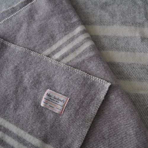 Different Size Stripes Wool Blankets Products Home