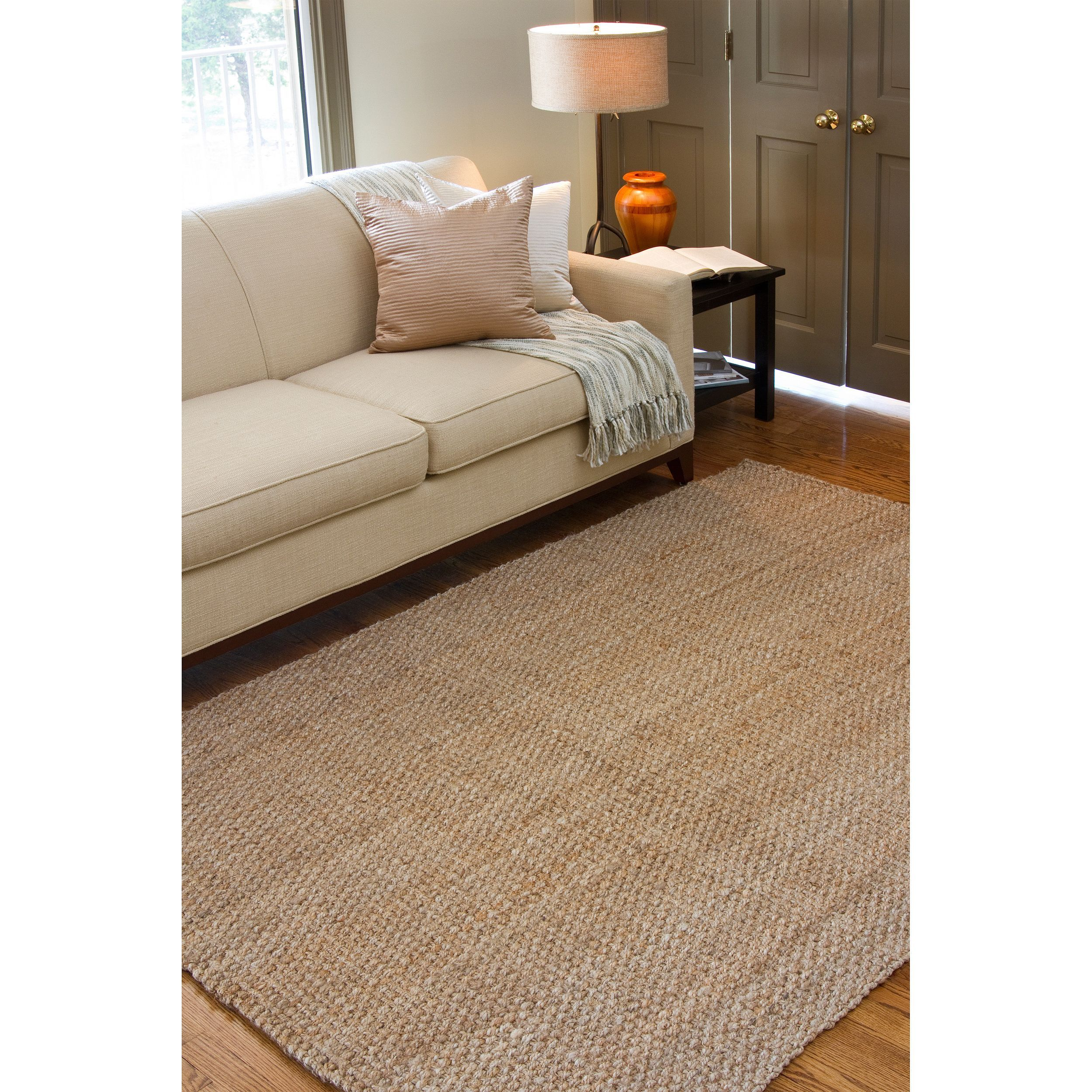 Let The Natural Style Of This Jute Rug Enrich Your Home