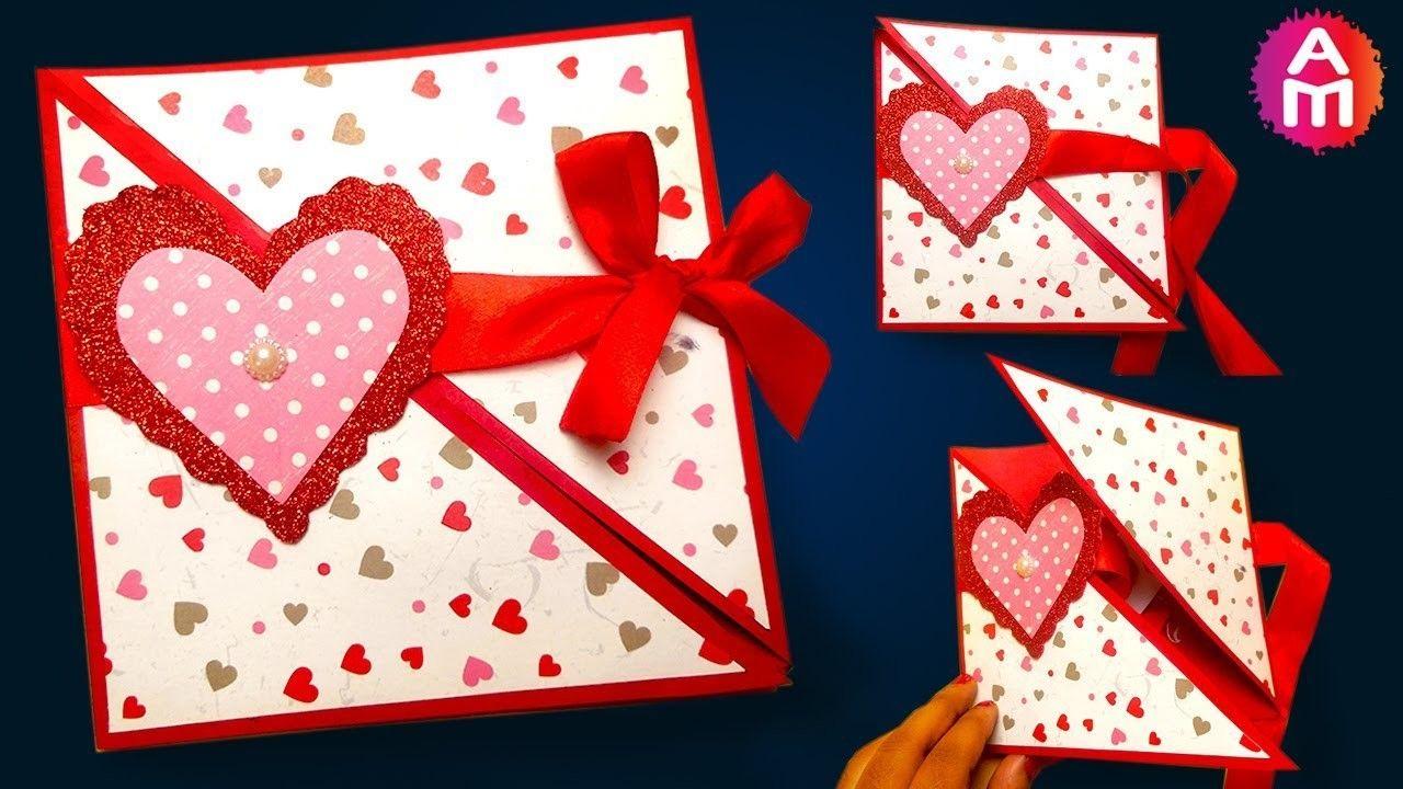 how to make  diy valentine cards  handmade love card