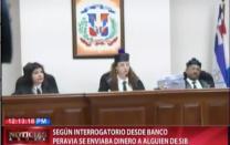 Interrogatorio Revela Que Desde El Banco Peravia Se Le Enviaba Dinero A Un Empleado De La Super Intendencia De Bancos #Video