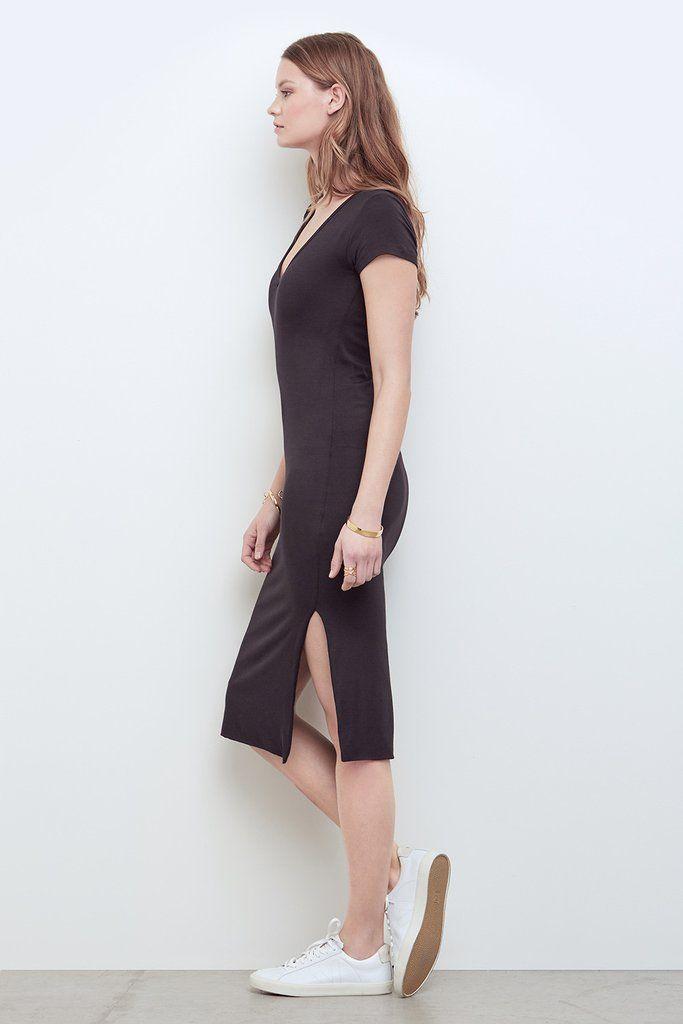9ddd7f54fd57 Miley Softest Midi Dress