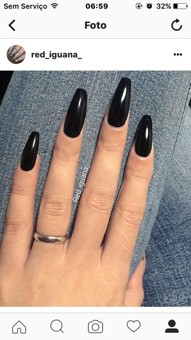 Black Coffin Nails Long Acrylic Nails Coffin Black Nail Designs Matte Nails Design