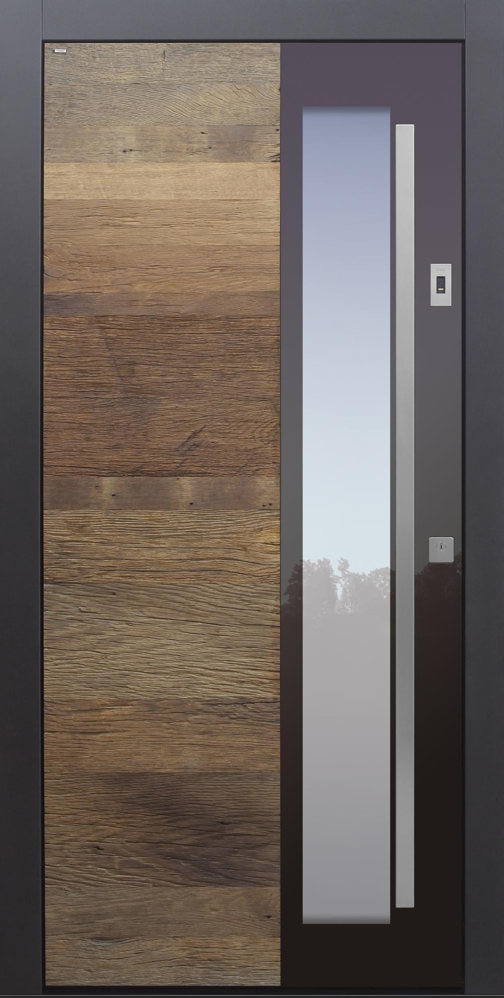 Photo of Inngangsdører moderne, tre, gammelt tre, eik, fingeravtrykk, over 100 år, sikkerhet …