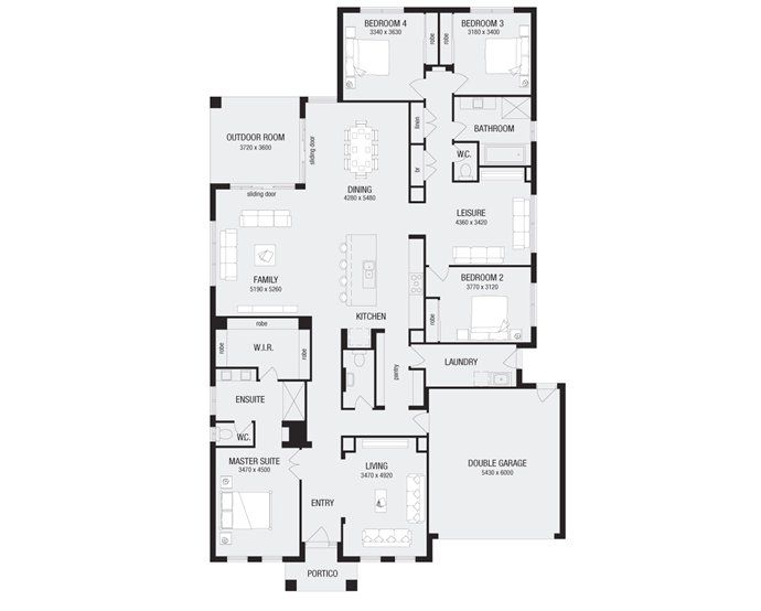 images about Floor plan on Pinterest   Floor plans  House    View Over new home designs ranging from single  double to duplex houses  Compare our designs online to your dream home
