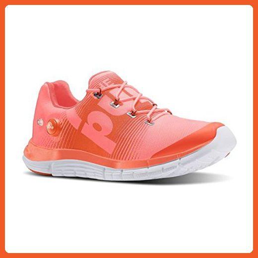 Shoe Coral Tangerine Womens Running 5 Fusion Zpump 10 White Reebok AOI1wqPW