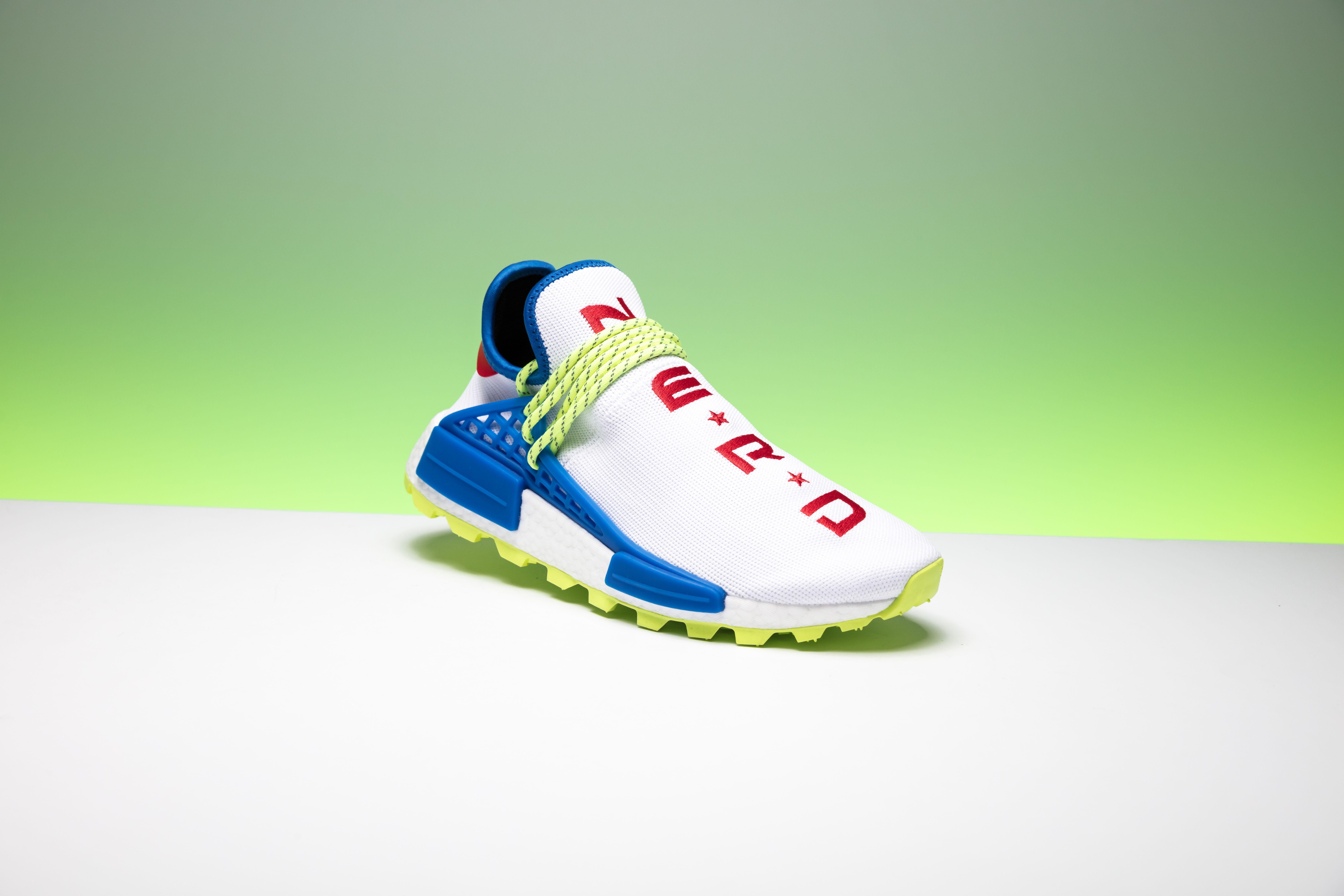 Adidas Pw Hu Nmd Nerd Homecoming Ee6283 In 2020 Human Race