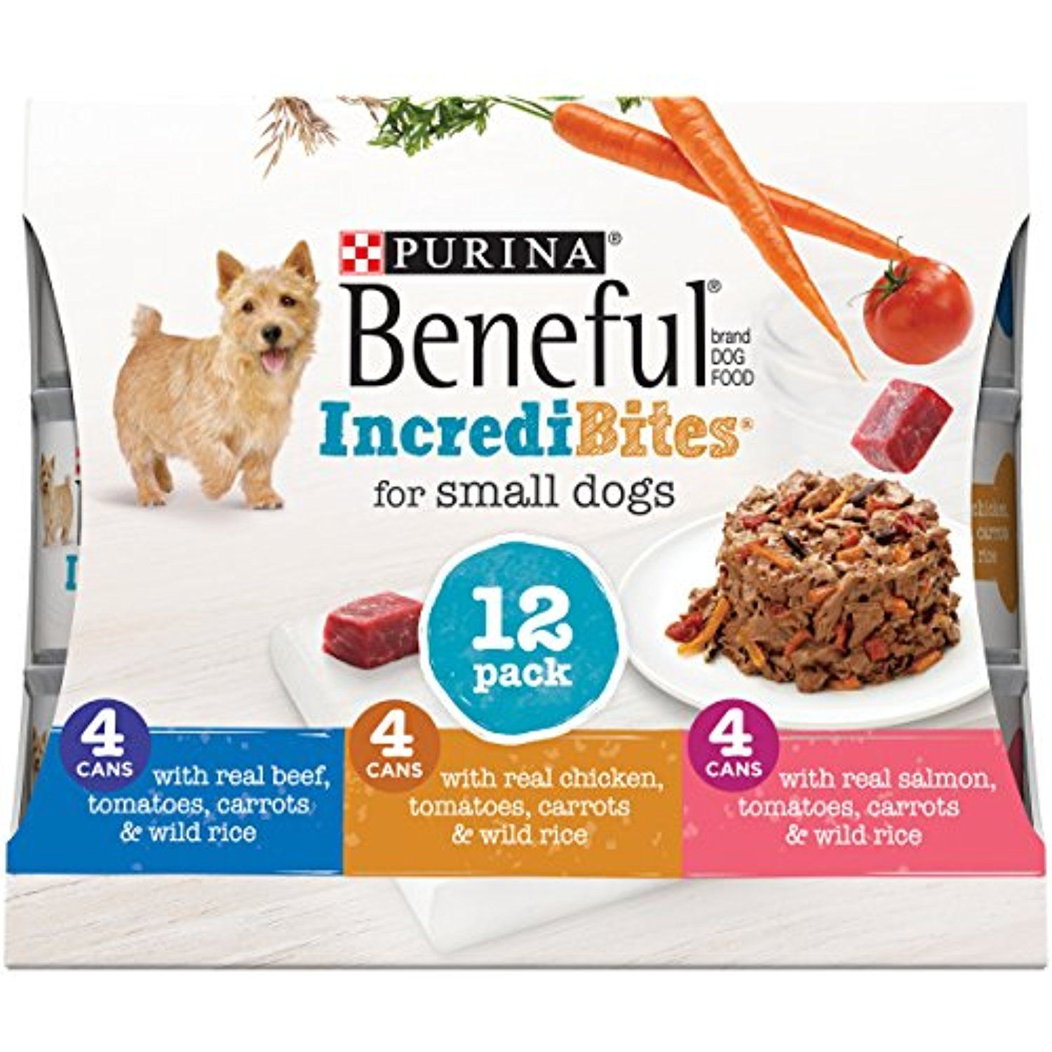 Purina Beneful Incredibites Variety Pack Adult Wet Food 24 3