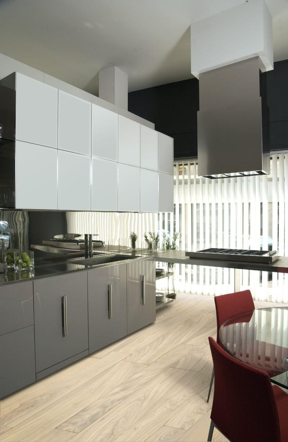 RAL 7037 Dusty Grey - High Gloss | Kitchen design | Pinterest | High ...