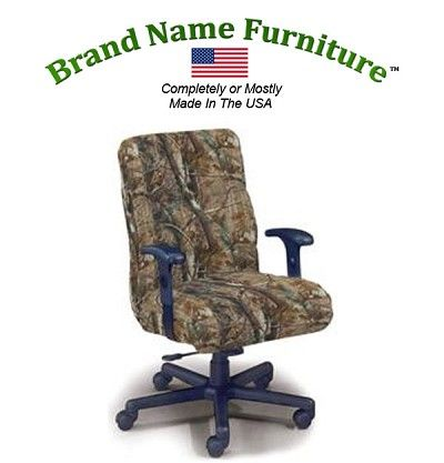 Camouflage Office Chair In Realtree Ap Hardwoods Unique Office Chairs Office Chair Camouflage Furniture