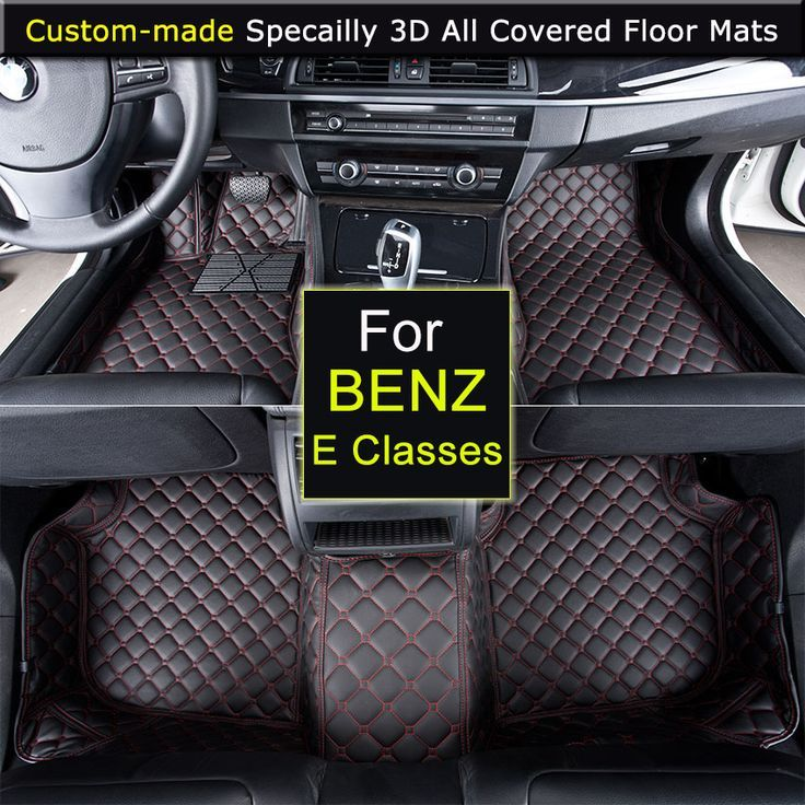 Specially For Mercedes E Classes E200 E260 E250 W211 W212 Car Floor Mats Car Styling Rugs Carpets 3d All Covered Waterp Car Floor Mats Custom Carpet Car Carpet