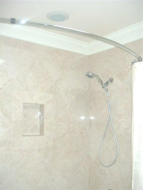 Marble Tile Crown Molding Around Tub Bathroom Pinterest Tiles Moldings And Tubs