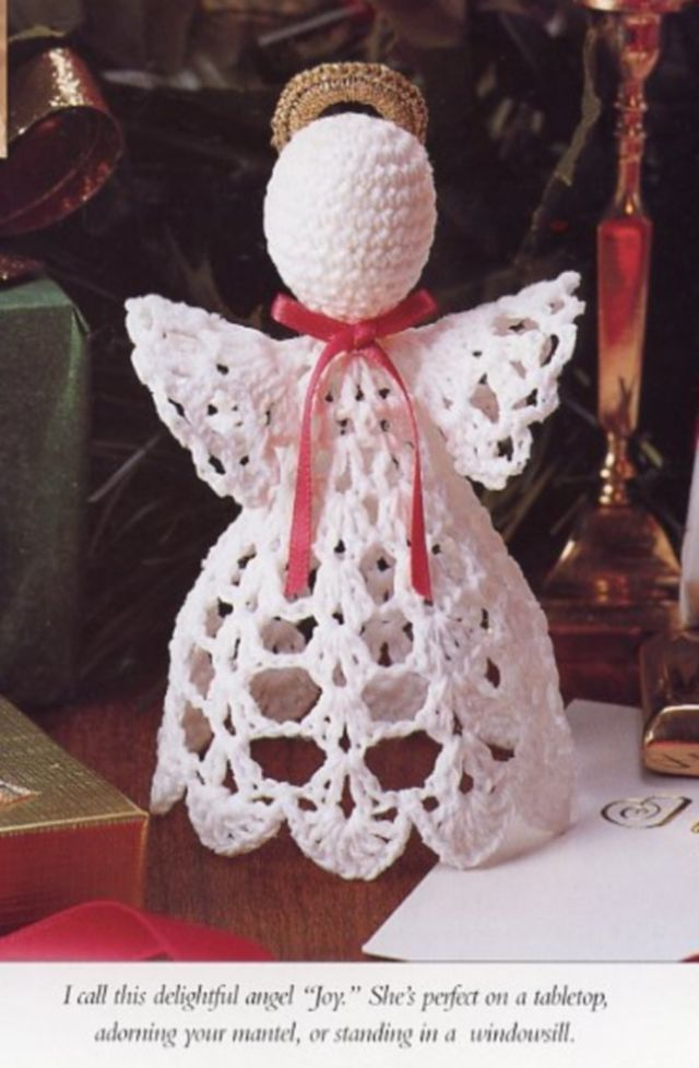 Christmas Angel Vanna Crochet Patterninstructions New Angels