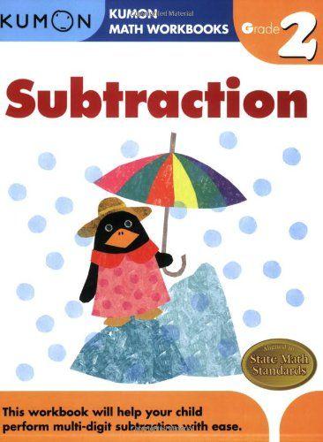 Grade 2 Subtraction Kumon Math Workbooks Kumon Publishing