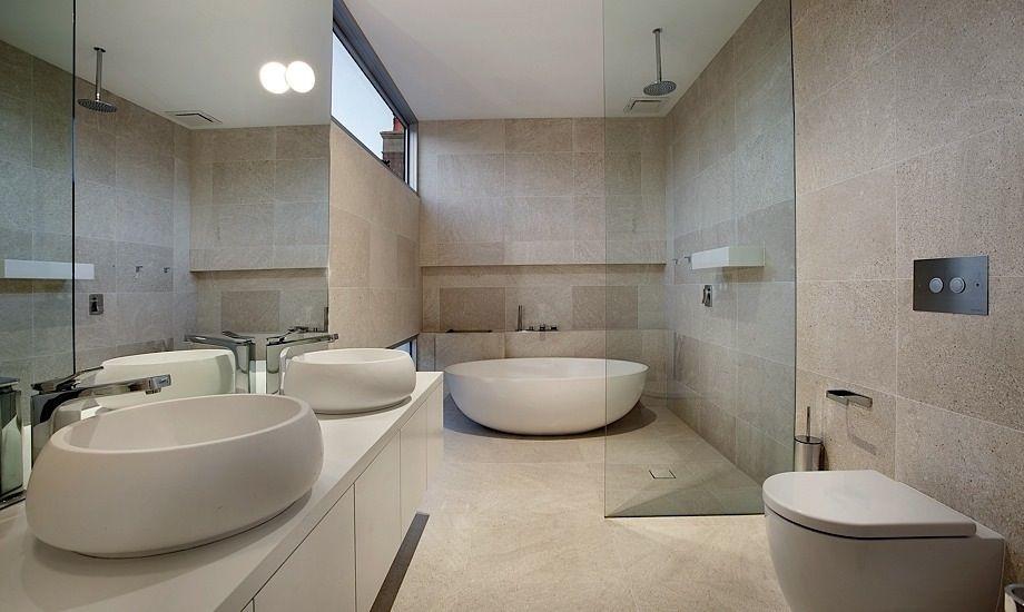 Modern bath tub inspiration by COCOON | check out our freestanding bath tubs | sturdy stainless steel bathroom taps | bathroom design | renovations | interior design | villa design | hotel design | Dutch Designer Brand COCOON