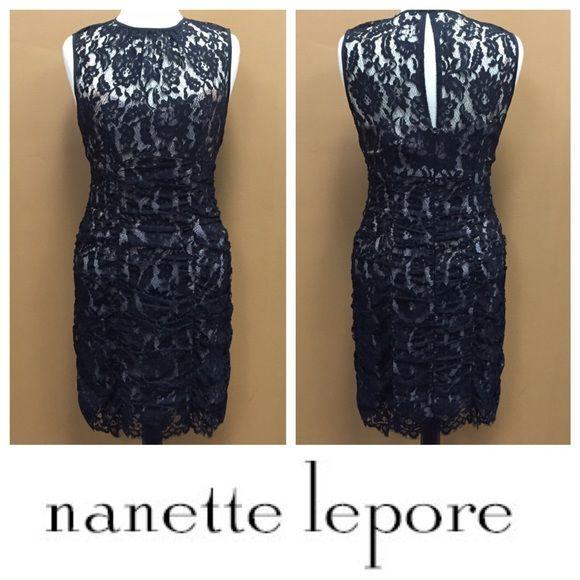 NANETTE LEPORE Lace Dress Nanette Lepore lace dress. Nanette Lepore Dresses Midi