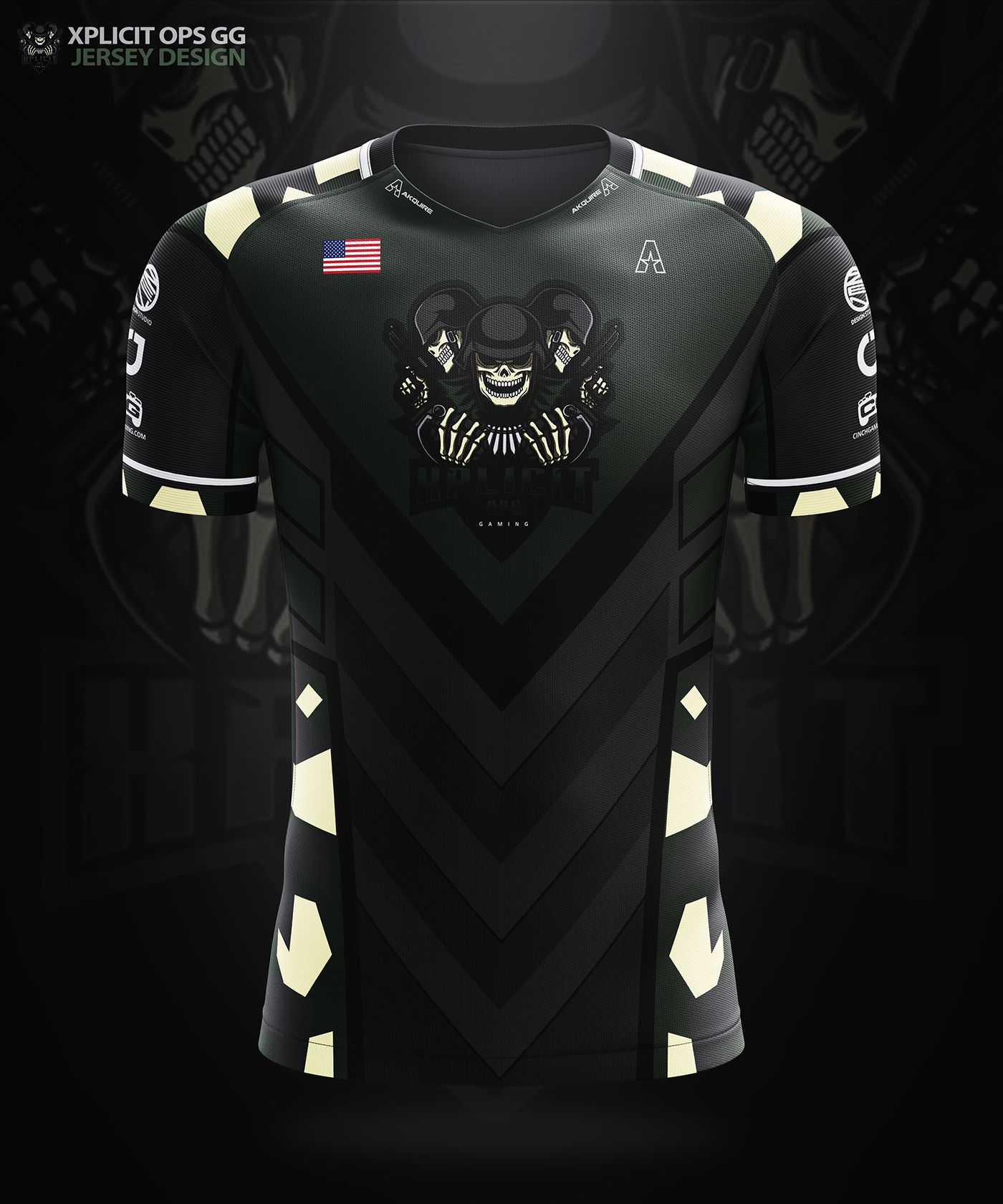 Akquire Clothing Co Esports Team Jersey Designs On Behance Jersey Design Sports Jersey Design Volleyball Jersey Design