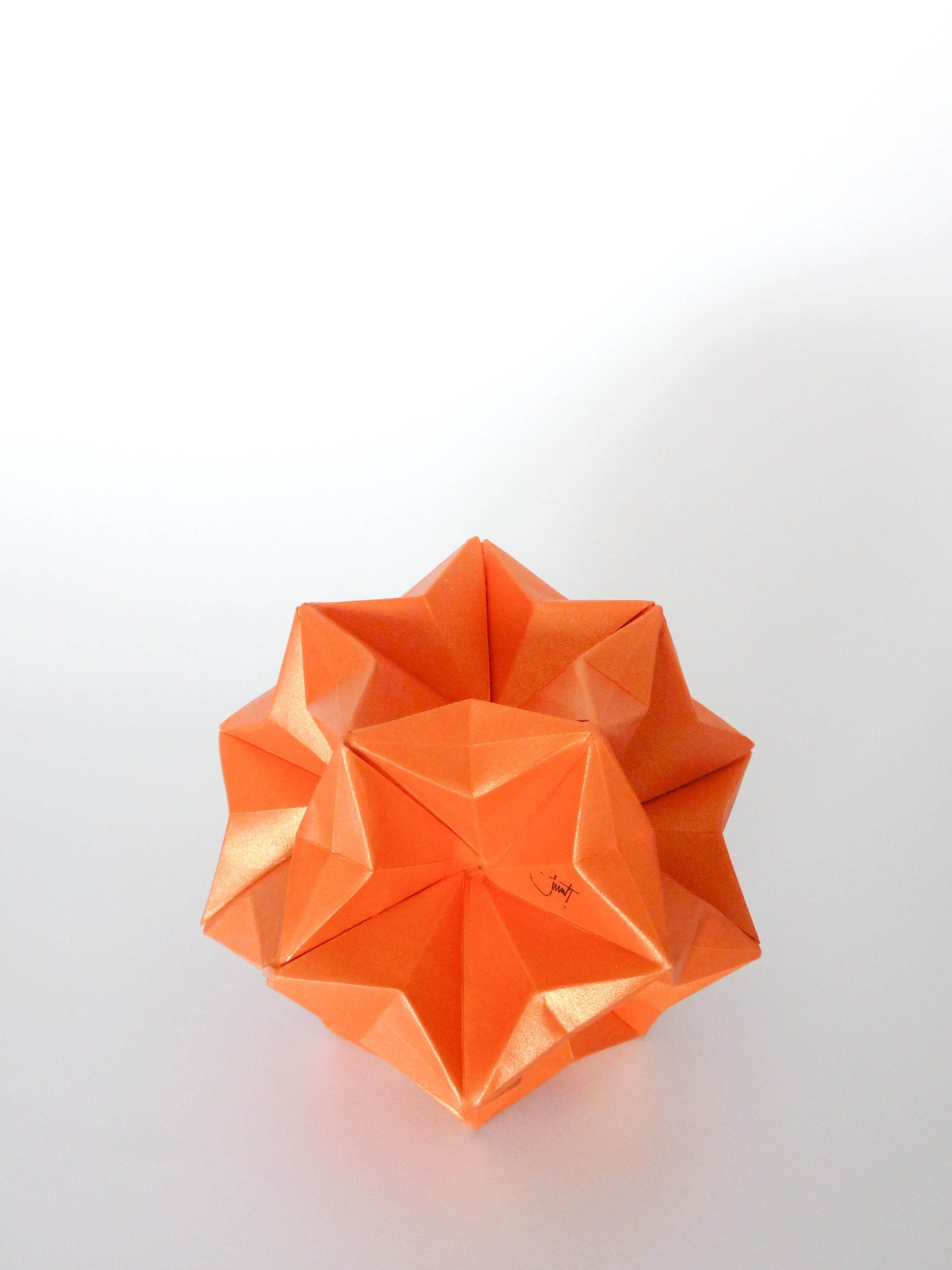 Kusudama Estrella Origami Diagrams Origami Crafts Origami And Kirigami