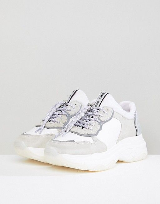 Bronx & Gray Suede Chunky Sneakers vKWHv