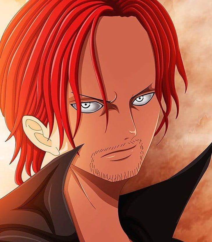 Kaido On Pikomit Shanks Jeune One Piece Fr One Piece Ace One Piece Drawing Black Girl Blue Eyes